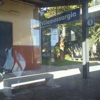 Photo taken at Stazione Villamassargia by Nicola D. on 3/12/2012