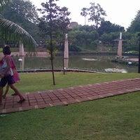 Photo taken at Taman ayudia by Rizqillah A. on 7/26/2012