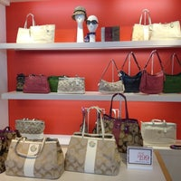 Photo taken at Coach Factory Store by Heather B. on 7/26/2012