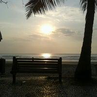 Photo taken at Praia Central de Balneário Camboriú by Mariah B. on 9/3/2012
