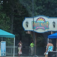 Photo taken at Six Flags White Water by Michael on 9/3/2012