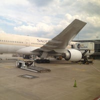 Photo taken at Gate A16 by Carlos P. on 8/23/2012