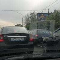 Photo taken at Ясеневая улица by Olga D. on 5/28/2012