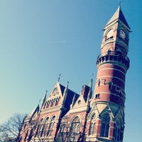 Photo taken at New York Public Library - Jefferson Market by Dave N. on 2/27/2012