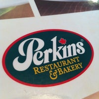 Photo taken at Perkins Family Restaurant & Bakery by Frankie S. on 8/11/2012