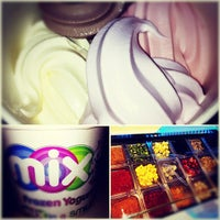 Photo taken at Mix Frozen Yogurt by Matt M. on 3/25/2012