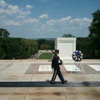 Photo taken at Tomb of the Unknowns by Ron B. on 6/24/2012