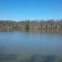 Photo taken at Lake Accotink Park by Ashley V. on 2/26/2012