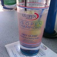 Photo taken at Grey Goose Bar - US Open by John L. on 8/31/2012