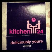 Photo taken at kitchen24 by Justin C. on 5/28/2012