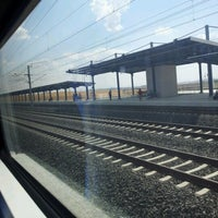 Photo taken at Polatli High Speed Train Station by Ismail K. on 7/7/2012