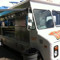 Photo taken at Angelica's Taqueria Taco Truck by Mason W. on 8/20/2012