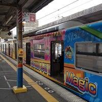 Photo taken at JR Nishikujō Station by Yuji M. on 5/1/2012