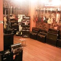 Photo taken at Tiga Negeri Music House by Erik &. on 8/13/2012