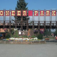 Photo taken at Pioneer Park by Crash Gregg on 8/19/2012