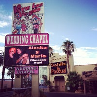 Photo taken at Viva Las Vegas Wedding Chapel Inc. by Pascual D. D. on 8/5/2012
