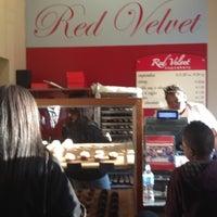 Photo taken at Red Velvet Cupcakery by Tasha D. on 3/17/2012