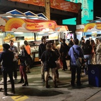 Photo taken at TODAY Munchie Mobiles at Night by Jen R. on 3/12/2012