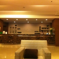 Photo taken at Grand Sukhumvit Hotel Bangkok by Steve Jay 재민 on 5/28/2012