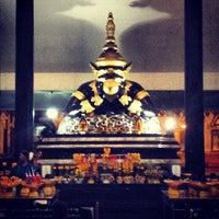 Photo taken at วัดศีรษะทอง (วัดพระราหู) Wat Sisa Thong by Keng K. on 8/8/2012