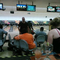 Photo taken at AMF All Star Lanes by Mindy B. on 8/13/2012