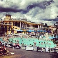 Photo taken at Széchenyi Thermal Bath by AlenaZ on 6/11/2012