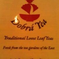 Photo taken at Dobra Tea by Elaine Y. on 7/1/2012