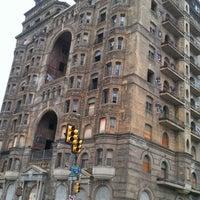 Photo taken at Divine Lorraine Hotel by Taylor H. on 8/25/2012