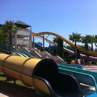 Photo taken at Turan Prince Aquapark by Mehmet T. on 6/30/2012