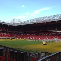 Photo taken at Manchester United Museum & Tour Centre by Mahésh on 2/18/2012