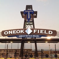 Photo taken at ONEOK Field by Dustin T. on 8/13/2012