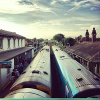 Photo taken at Flint Railway Station (FLN) by Jessica H. on 9/3/2012