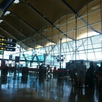 Photo taken at Terminal 4 Satélite by mauricio m. on 9/2/2012