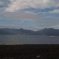 Photo taken at Playa Correntoso by Ricardo J. on 2/13/2012