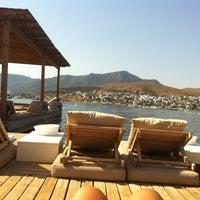 Photo taken at Maçakızı Hotel by Dilara on 8/18/2012