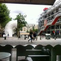 Photo taken at Café Beaubourg by Alper Ç. on 7/19/2012