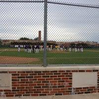Photo taken at Richardson High School Baseball Field by Irma K. on 3/9/2012