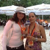 Photo taken at Nektar Beach by Diana D. on 7/6/2012