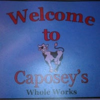 Photo taken at Caposey's Whole Works by Dan S. on 3/8/2012