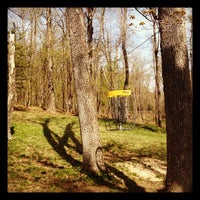 Photo taken at Marshall Street Pyramids Disc Golf Course by Matt J. on 4/20/2012