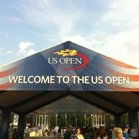 Photo taken at US Open Tennis Championships by Arnold G. on 9/2/2012