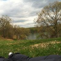 Photo taken at Rockefeller State Park Preserve by Kyle O. on 4/15/2012
