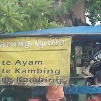 Photo taken at Warung Lydia by Gede Ananda on 3/6/2012