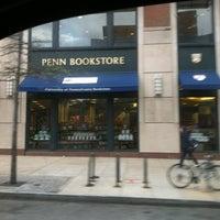 Photo taken at Penn Bookstore by Joe P. on 4/2/2012