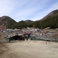 Photo taken at 小菅村役場 by Seiichi K. on 4/15/2012