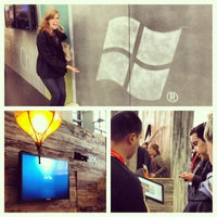 Photo taken at Microsoft Lounge - Featuring Win Phone and Windows by Katie M. on 3/9/2012