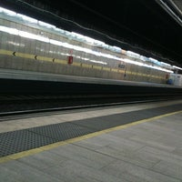 Photo taken at Passeig de Gràcia Railway Station by Marty S. on 3/14/2012