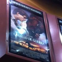 Photo taken at Cinemark Caballito by Flavia G. on 2/18/2012