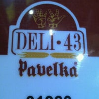 Photo taken at Deli 43 Pavelka by Pedro A. on 5/16/2012