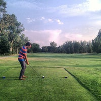 Photo taken at Flatirons Golf Course by Drew F. on 8/17/2012